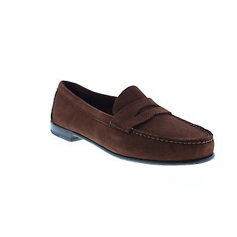 Sebago Clark Suede  Mens Brown Suede Loafers & Slip Ons Penny Shoes