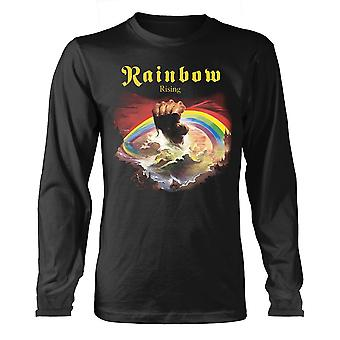Rainbow Rising long sleeve t-shirt