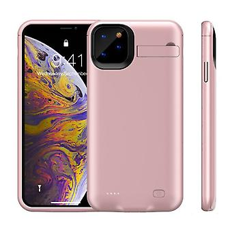 Stuff Certified® iPhone 11 Pro Max Powercase 6200mAh Powerbank Case Charger Battery Cover Case Pink