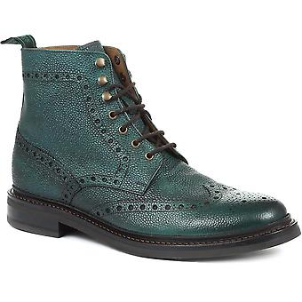 Jones Bootmaker Mens Kristian Full Goodyear Welted Full Brogue Boots