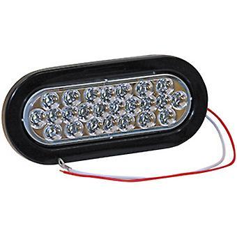 "Buyers 5626324 6-1/2"" Oval Back-Up Light Led"