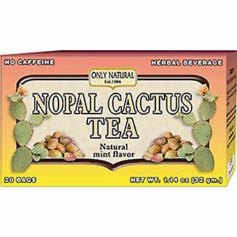 Nur natürlicher Nopal Kaktus Tee, 20 Beutel