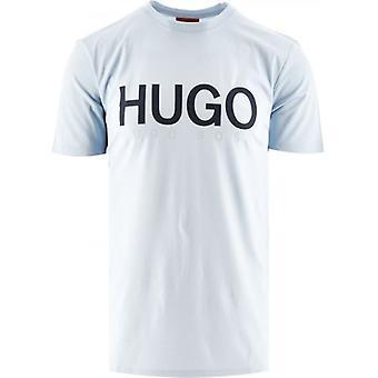 HUGO Light Blue Dolive U3 T Shirt