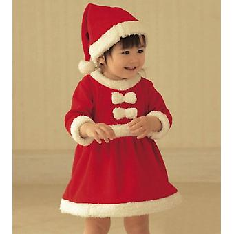 2pcs Baby Christmas Outfits Kids Santa Suits And Jumpsuits With Hat Boys Girls Set