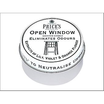Prices Scented Candle Tin Open Window FR510316