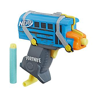 Official Nerf MicroShots Fortnite Micro Battle Bus Blaster