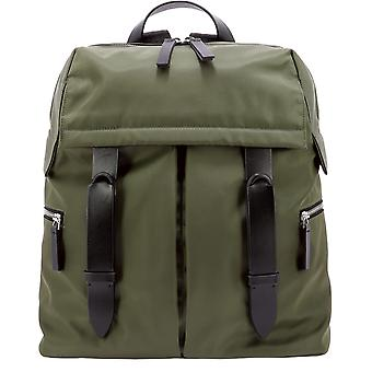 Orciani Nbe001ecolverde Men's Green Polyester Backpack