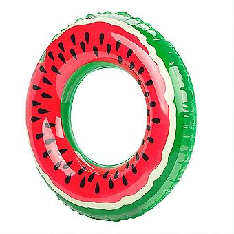 Outdoor Summer Watermelon Nuoto Anello - Piscina gonfiabile Galleggiante Cerchio