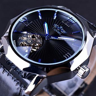 GMT964 automatische mechanische Uhr Transparent Skelett Zifferblatt Männer Uhr