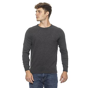 Conte of Florence Grey Sweater