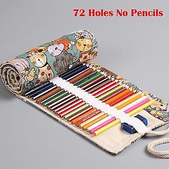 School Pencil Case, Kawaii Canvas Pen Bag, Penal
