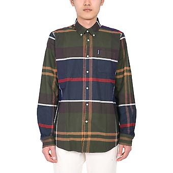 Barbour Msh4817tn11 Men's Multicolor Cotton Shirt