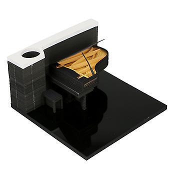 3D Mukavuus Tarrat Paperit Kortti Käsityö Piano Kaiverrus Rakkaus Lahja Syntymäpäivä Lahja