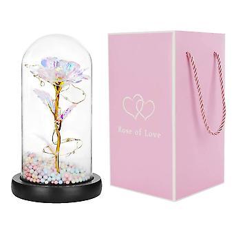 Rose Flower Glass lamp