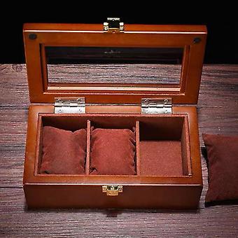 Neue Holz Uhr Display-Box, Veranstalter, Holz-Etui für Schmuck