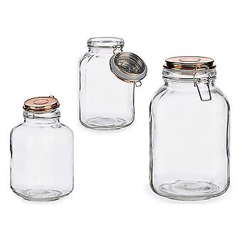 Vidro jar glass 3 L (14 x 24 x 14 cm)