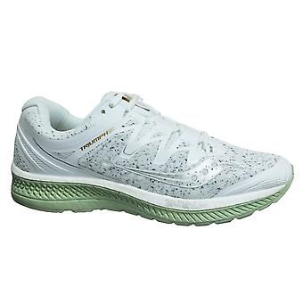 Saucony Triumph Iso 4 White Low Lace Up Mens Running Trainers S20413 40