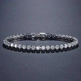 Silber Tennis Armband Armreif
