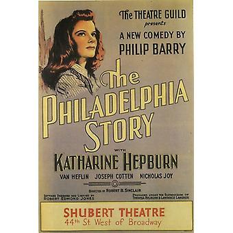 (Broadway) Philadelphia tarina elokuvajuliste (11 x 17)