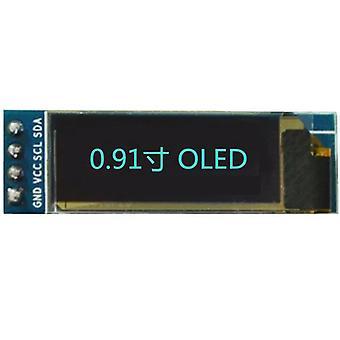 0,91 hüvelykes, Iic interfész, OLED LCD kijelző modul LCD képernyő tartozékokhoz