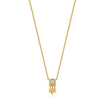 Ania Haie Shiny Gold Midnight Fringe Necklace N026-01G