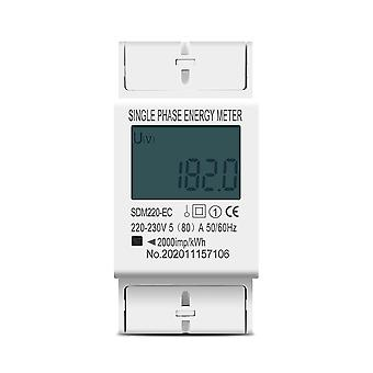 Einphasige zwei Draht Lcd Digital Display Stromverbrauch Energy Electric