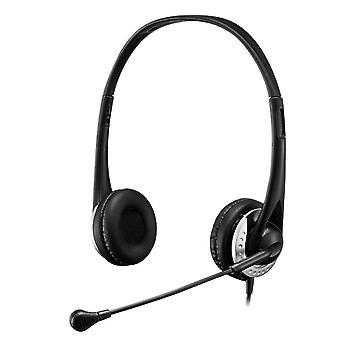 Stereo USB -multimediakuulokkeet/kuulokkeet mikrofonilla