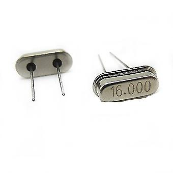 10pcs/lot 16mhz Oscillator Quartz Resonator 16m 16.000mhz Dip-2 Crystal
