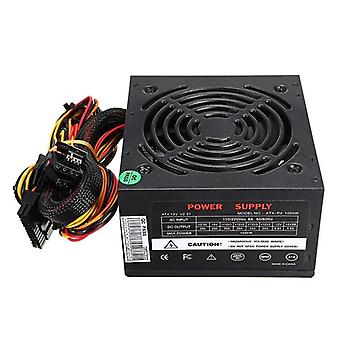 Eu Plug-1000w Power Supply, 12v Pc Computer Sata Gaming Pc Power Supply