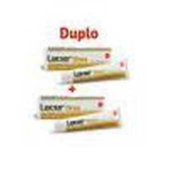 Lacer Gold toothpaste double 125 ml