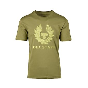 Belstaff Coteland 2.0t-paita Vintage Olive/chartreuse