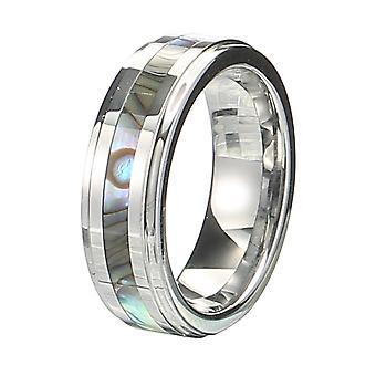 """קלאסי 6 מ""""מ טונגסטן קרביד טבעת מעטפת טונגסטן פלדה Colorfast אנאלרגית רין"""