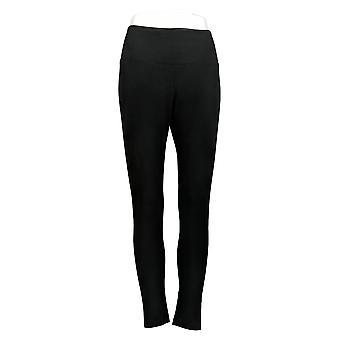 Kvinder med kontrol Petite Tummy Control Leggings Sort A366539
