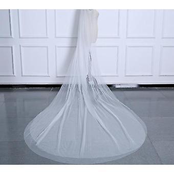 Vrouwen Een / Dubbele Laag Kathedraal Bruiloft Sluiers Accessoires Met Kam