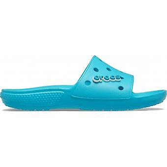 Crocs 206121 Classic Slide Naisten Slide Sandaalit Digitaalinen Vesi