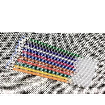 Flash Ballpint Gel -kynä, korosta täyttö täydellinen kiiltävä maalauspiirros