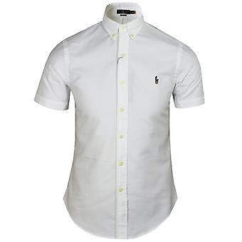 Ralph lauren mens white oxford shirt