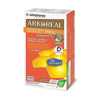 Arkoreal Light Royal Jelly 1000 mg Vitamin 20 units of 15ml