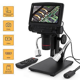 Andonstar digital microscope usb adsm301 hdmi/av long object distance digital  microscope for phone repair soldering tool watch