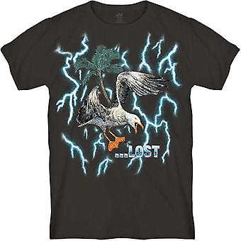 Lost screaming seagull tee shirt