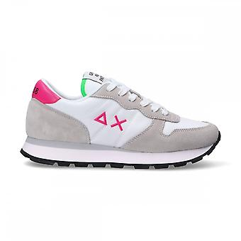 Running Sun68 Ally Solid Suede/ Women's White Fabric Ds21su06 Z31201