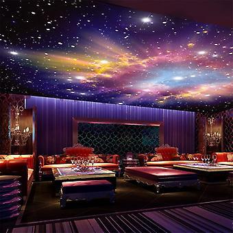 Wallpaper Modern Star Nebula, Night Sky, Mural Wall Cloth, Ktv Bar Theme,