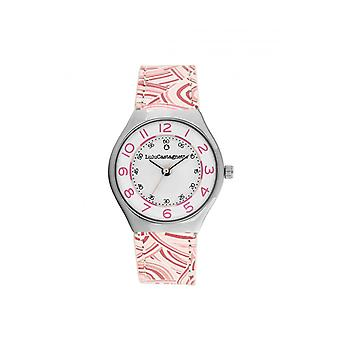 Women's Watch Lulu Castagnette Watches 38936 - Pink Leather Bracelet