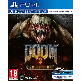 DOOM 3 VR Edition PS4 Game (PlayStation VR Required)