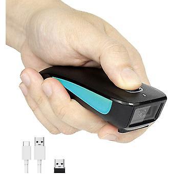 FengChun Wireless 1D Laser-Barcode-Scanner Bluetooth-kompatibler USB-Barcode-Leser mit kleiner