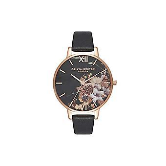 Olivia Burton Analog Quartz Watch Woman with Leather Strap OB16CS01