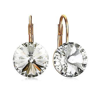 Earrings Multicolored Crystal Alloy Zircon Jewelry For Wedding
