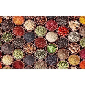 Piatnik Spices & Herbs  Jigsaw Puzzle (1000 Pieces)