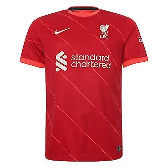 ليفربول 2021-2022 قميص المنزل (أطفال)
