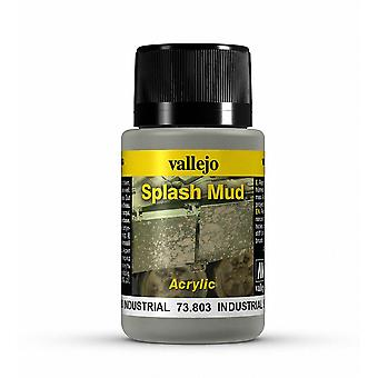 Vallejo Weathering Effects 40ml - Industrial Splash Mud